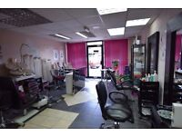 Very profitable beauty salon with some fixtures and fitting for sale