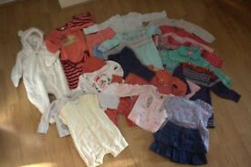 Bundle of Girl Clothes - age 3 to 6 months