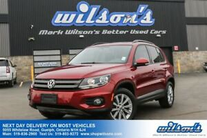 2013 Volkswagen Tiguan COMFORTLINE SUV! LEATHER! PANO SUNROOF! H