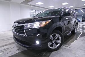 2015 Toyota Highlander LIMITED, NAV, ONE OWNER, NO ACCIDENTS, FU