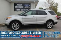 2013 Ford Explorer Limited   4X4   Leather/Moonroof   MyFordTouc