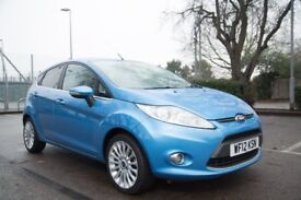 Ford Fiesta Titanium 2012. Top spec, 2 owners, full serv hist. Extremely reliable and economical