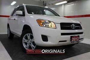 2012 Toyota RAV4 4WD Btooth R-Rack Alloys Cruise Pwr Wndws Mirrs