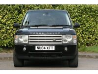 2004 RANGE ROVER LAND ROVER VOUGE HSE 3.0 TD6 AUTO BLACK LOW MILES,STUNNING CAR