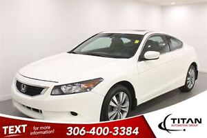 2010 Honda Accord Leather|Sunroof|Local Trade|PST Paid