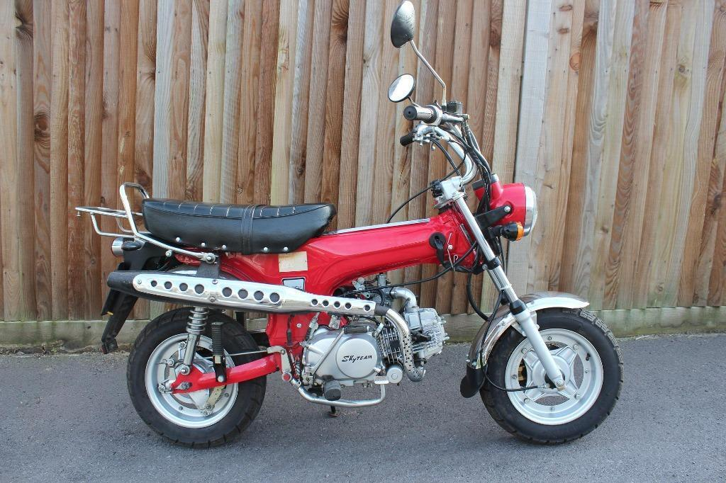 Skyteam dax st 125cc fresh mot and just been fully for Garage toyota dax