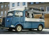 Citroën H Van fitted for catering 1968