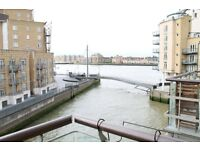 2 BEDROOM 2 BATH APARTMENT WITH RIVER VIEWS AND SECURE PARKING IN LIMEHOUSE CANARY WHARF WHITECHAPEL