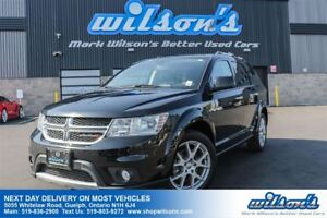 2016 Dodge Journey R/T AWD SUV! 7-PASS! LEATHER! HEATED STEERING
