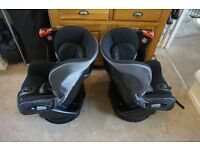 2 Maxi Cosi Axiss Swivel Child Baby Car Seat x2 available TWINS or even2 cars