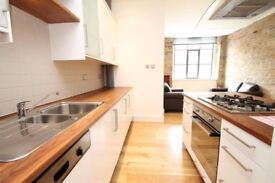 Spacious loft style apartment with two bathrooms situated within an amazing warehouse development