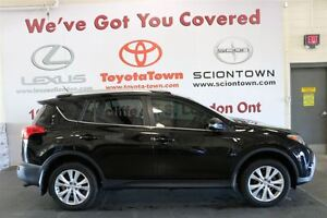 2015 Toyota RAV4 LOADED SINGLE OWNER LIMITED LEATHER & NAVIGATIO London Ontario image 3