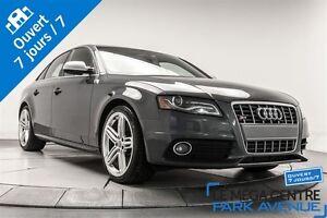 2011 Audi S4 3.0T NAVIGATION BANG&OLUFSEN