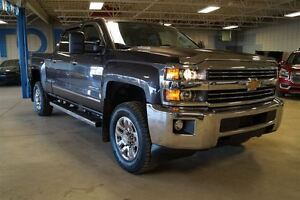 2015 Chevrolet SILVERADO 2500HD LTZ, Diesel, 4x4, Heated Leather