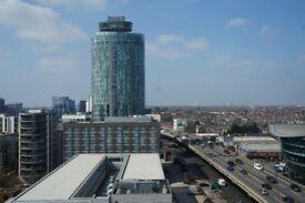 Large ensuite room in Brentford, penthouse views!