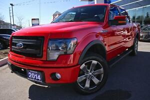 2014 Ford F-150 LUXURY FX4,LEATHER,NAVIGATION