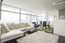LUXURY 2 BED 23RD FLOOR - VACANT - Pan Peninsula E14 CANARY WHARF SOUTH QUAY DOCKLANDS LIMEHOUSE