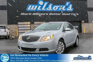 2014 Buick Verano LEATHER TRIM! CRUISE CONTROL! POWER PACKAGE! K