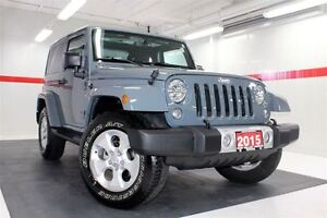 2015 Jeep Wrangler Sahara 4WD ALLOY WHEELS CRUISE CONTROL
