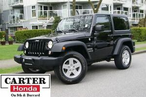 2014 Jeep Wrangler Sport + HARD TOP + MANUAL + LOCAL + NO ACCIDE