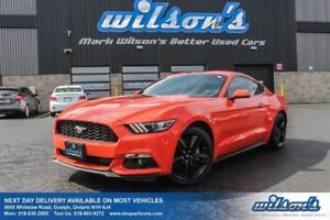 2016 Ford Mustang PREMIUM LEATHER! NAVIGATION! REAR CAMERA! HEAT