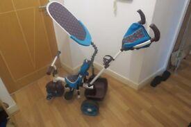Little Tikes 4 in 1 Trike in Blue As New