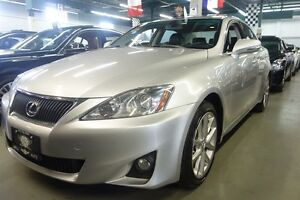 2012 Lexus IS 250 ALL WHEEL DRIVE - SUNROOF - LEATHER INTERIOR -