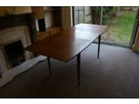 Mid century mackintosh teak dinning table