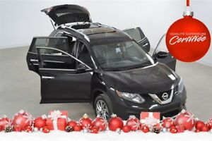 2014 Nissan Rogue SL 4WD Cuir+Toit Pano+Bluetooth+Camera Recul