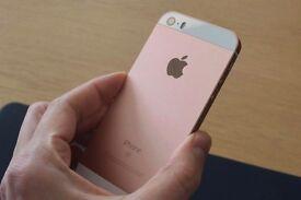 Iphone se rose gold 16GB Locked To 02
