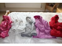 Girls Age 2 - 3 years bundle of coats