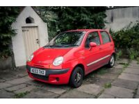 Daewoo Matiz cheap and reliable old car for sale