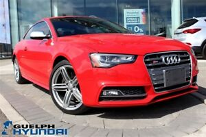 2013 Audi S5 3.0T (S tronic)-1 OWNER,LEATHER,NAV,SUNROOF &MORE!