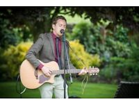Acoustic guitarist & vocalist available for your function or wedding!