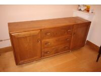 Classic Solid Golden Elm Ercol Sideboard