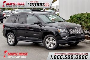 2015 Jeep Compass w/ Leather, Heated Seats & Sunroof