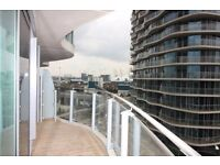 VACANT! BRAND NEW UNLIVED IN ONE BEDROOM APARTMENT! LUXURY DESIGNER FURNISHED IN ROYAL DOCKS E16 DLR