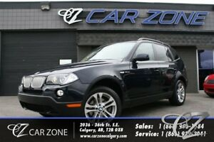 2008 BMW X3 3.0SI, LOADED, SUNROOF, LEATHER, AWD