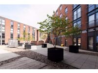 Great Sized Two Bedroom Two Bathroom Apartment in Daisy Spring Works, parking included