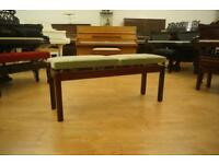 New adjustable duet piano bench