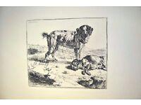 15 x Antique 19thc (1860s) Adam Bartsch Prints 'Le Peintre Graveur' - 17thc Old Masters