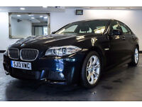 2013 13 BMW 5 SERIES 3.0 530D M SPORT 4D AUTO DIESEL*PART EX WELCOME*FINANCE AVAILABLE*WARRANTY*