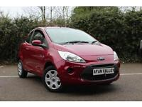 FORD KA 1.2 Style 3dr **CAM BELT DONE++�30 A YEAR TAX** (red) 2009