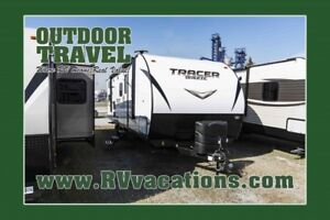 2018 FOREST RIVER Tracer Breeze 26DBS Bunk House Travel Trailer
