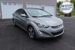 2016 Hyundai Elantra GLS! SUNROOF! HEATED SEATS! WARRANTY!