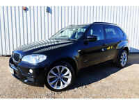 BMW X5 M SPORT - 2009, 54,000 MILES, SAPPHIRE BLACK, PANORAMIC SUNROOF, FSH, £16975