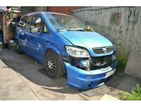 2004 VAUXHALL ZAFIRA GSI 2.0 TURBO FOR PARTS BREAKING Z20LET