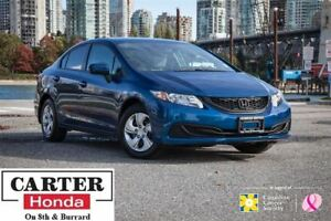 2015 Honda Civic LX + NEW TIRES + LOCAL + NO ACCIDENTS + CERTIFI