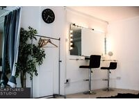 Photography Studio Hire in Buzzing Brixton £15 per hour incl Lighting and backdrops