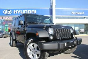 2015 Jeep WRANGLER UNLIMITED Sport/4X4/AUX/Removable Hard Top